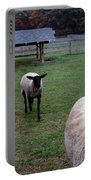 Sheep Feed Time Portable Battery Charger
