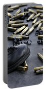 Shell Casings From A .50 Caliber Portable Battery Charger