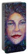 She's Come Undone Portable Battery Charger by Shannon Grissom