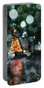 Shiny Tree In Bienville Square Portable Battery Charger