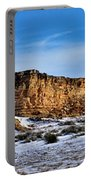 Ship Rock In Kansas Portable Battery Charger