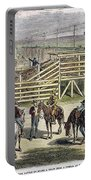 Shipping Cattle, 1877 Portable Battery Charger
