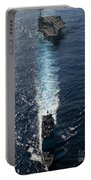Ships From The John C. Stennis Carrier Portable Battery Charger