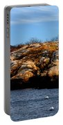 Rockport Shore Rocks - Greeting Card Portable Battery Charger