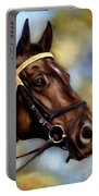 Show Horse Painting Portable Battery Charger