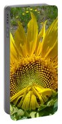 Shy Sunflower Portable Battery Charger
