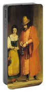 Shylock And Jessica From 'the Merchant Of Venice' Portable Battery Charger