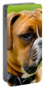 Sidney The Boxer Portable Battery Charger