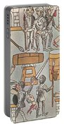 Siege Of Tenochtitlan, 1521 Portable Battery Charger