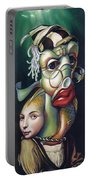 Siegfried And Koi Portable Battery Charger
