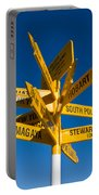 Signpost In Sterling Point Bluff Portable Battery Charger