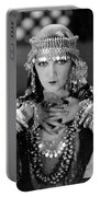 Silent Film Still: Costume Portable Battery Charger