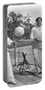 Silent Film Still: Sports Portable Battery Charger