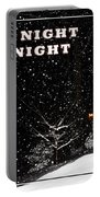 Silent Night Card Portable Battery Charger