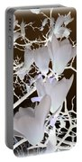 Silhouetted Blossoms Portable Battery Charger