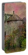 Silo In Overgrowth Portable Battery Charger