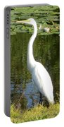 Silver Heron Portable Battery Charger