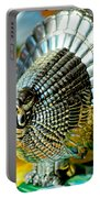 Silver Turkey Right Portable Battery Charger