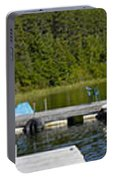 Simple Waterslide On Portage Lake Portable Battery Charger