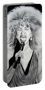 Singer And Actress Tina Turner  Portable Battery Charger