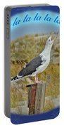 Singing Seagull Christmas Card Portable Battery Charger