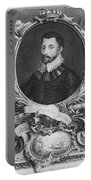 Sir Francis Drake, English Explorer Portable Battery Charger by Photo Researchers, Inc.