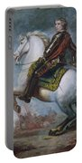 Sir Jeffrey Amherst Portable Battery Charger by Sir Joshua Reynolds