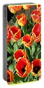 Skagit Valley Tulips 10 Portable Battery Charger