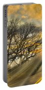 Skeletons At Sunset Portable Battery Charger