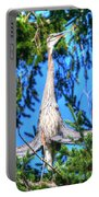 Puget Sound Great Blue Heron Skirt Wings Portable Battery Charger