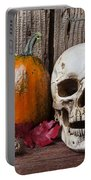 Skull And Gourds Portable Battery Charger