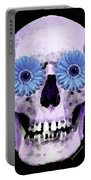 Skull Art - Day Of The Dead 3 Portable Battery Charger