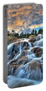 Sky Blue Falls Portable Battery Charger