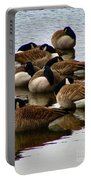 Sleepy Geese Portable Battery Charger