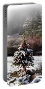 Small Christmas Tree Filtered Portable Battery Charger