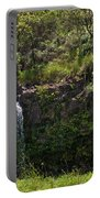 Small Waterfall - Hana Highway Portable Battery Charger