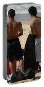 Smile Boys Bondi Beach Australia Portable Battery Charger