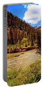 Snake River And Kayaker Portable Battery Charger