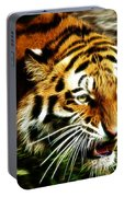 Snarling Tiger Portable Battery Charger