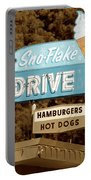 Sno-flake Drive In Lake Tahoe Portable Battery Charger