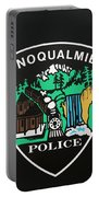 Snoqualmie Police Portable Battery Charger