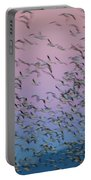Snow Geese Painting Portable Battery Charger