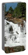 Snow Melt Glen Alpine Falls Portable Battery Charger