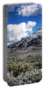 Snow On The Superstitions  Portable Battery Charger