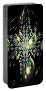 Snowflake Bubble Glass Portable Battery Charger