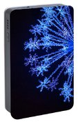 Snowflake Sparkle Portable Battery Charger