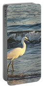 Snowy Egret - Egretta Thula Portable Battery Charger