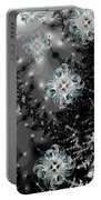 Snowy Night IIi Fractal Portable Battery Charger