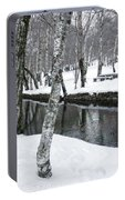 Snowy Park Portable Battery Charger