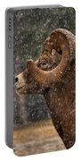 Snowy Ram Portable Battery Charger
